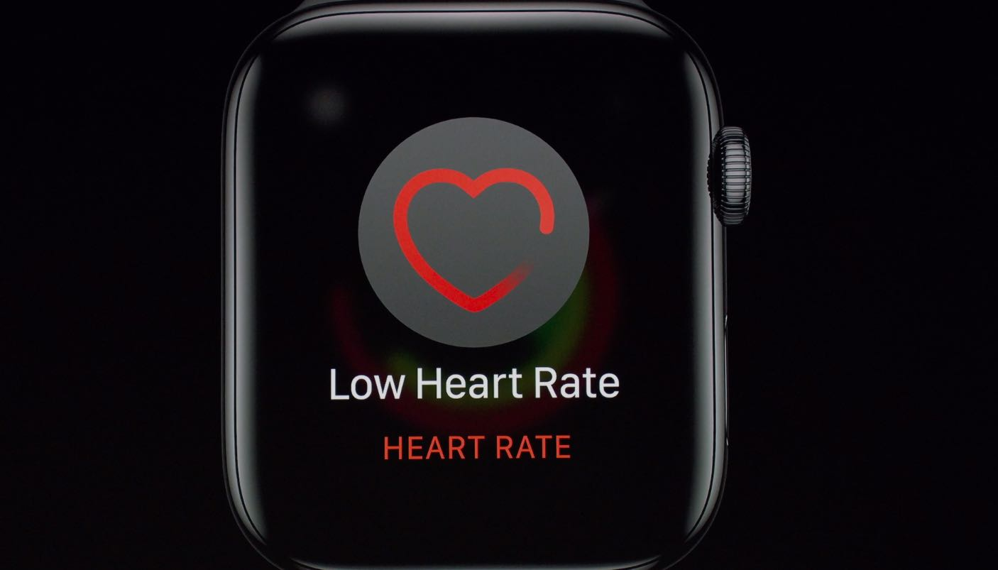 Apple Watch heart rate notification for low frequency rhythm