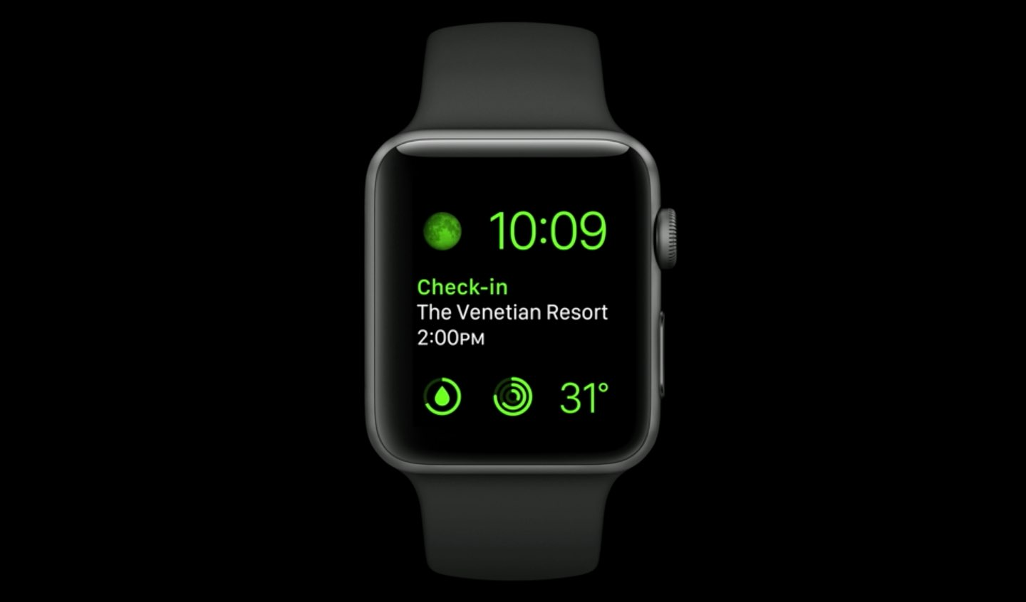 Apple Watch complications on Series 4: another example image