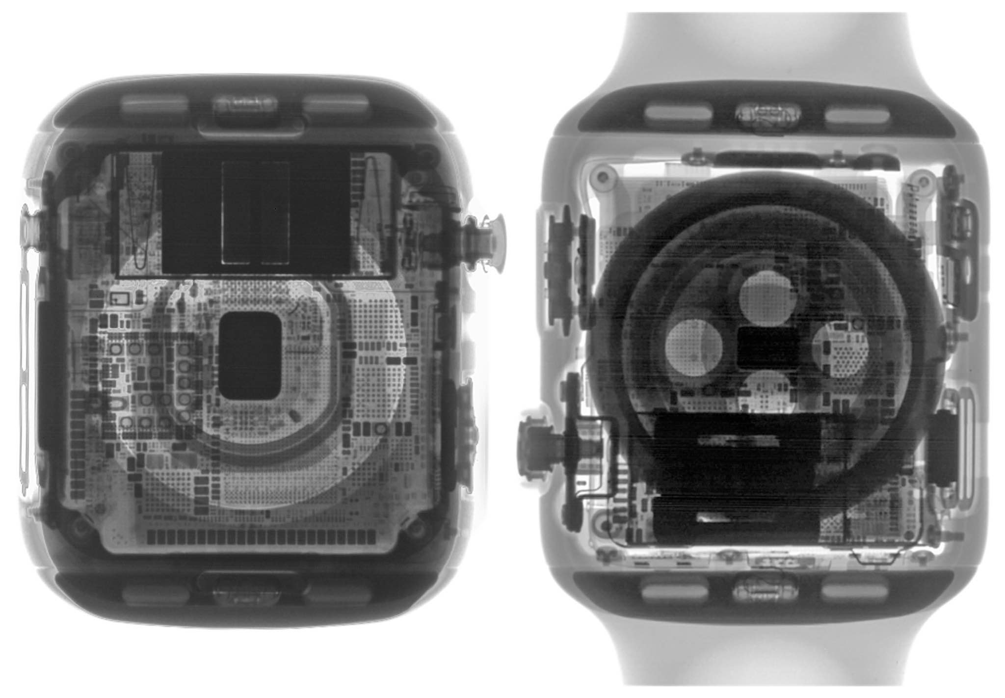 Apple Watch Series 4 teardown reveals a new ECG sensor at the bottom and in the Crown