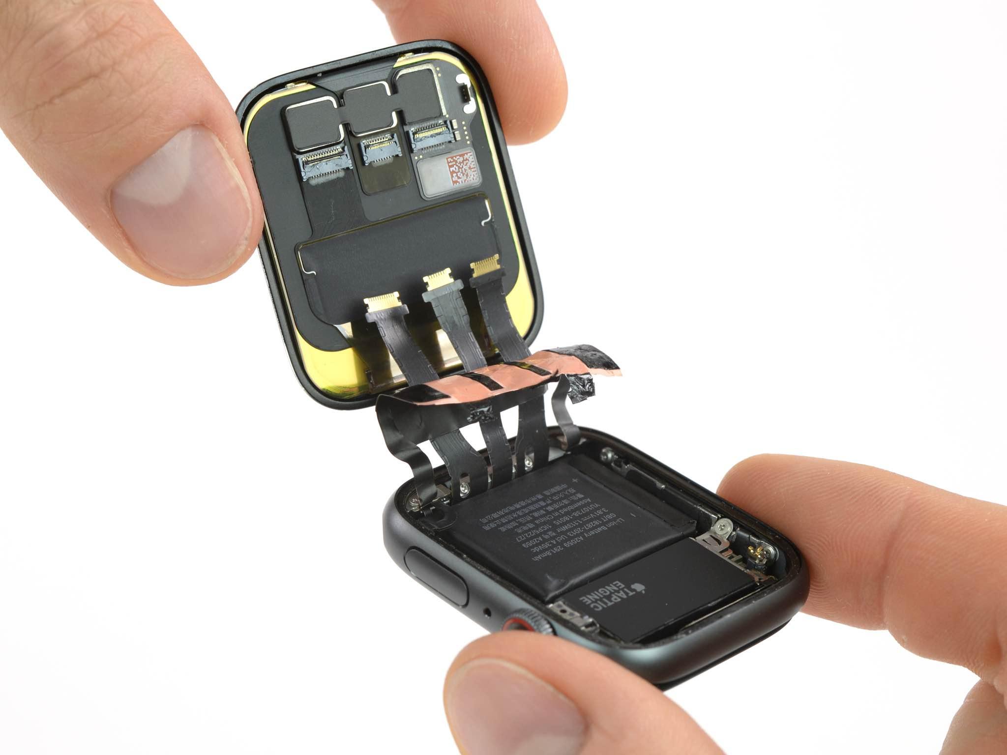 Apple Watch Series 4 teardown reveals a longer Taptic Engine than before
