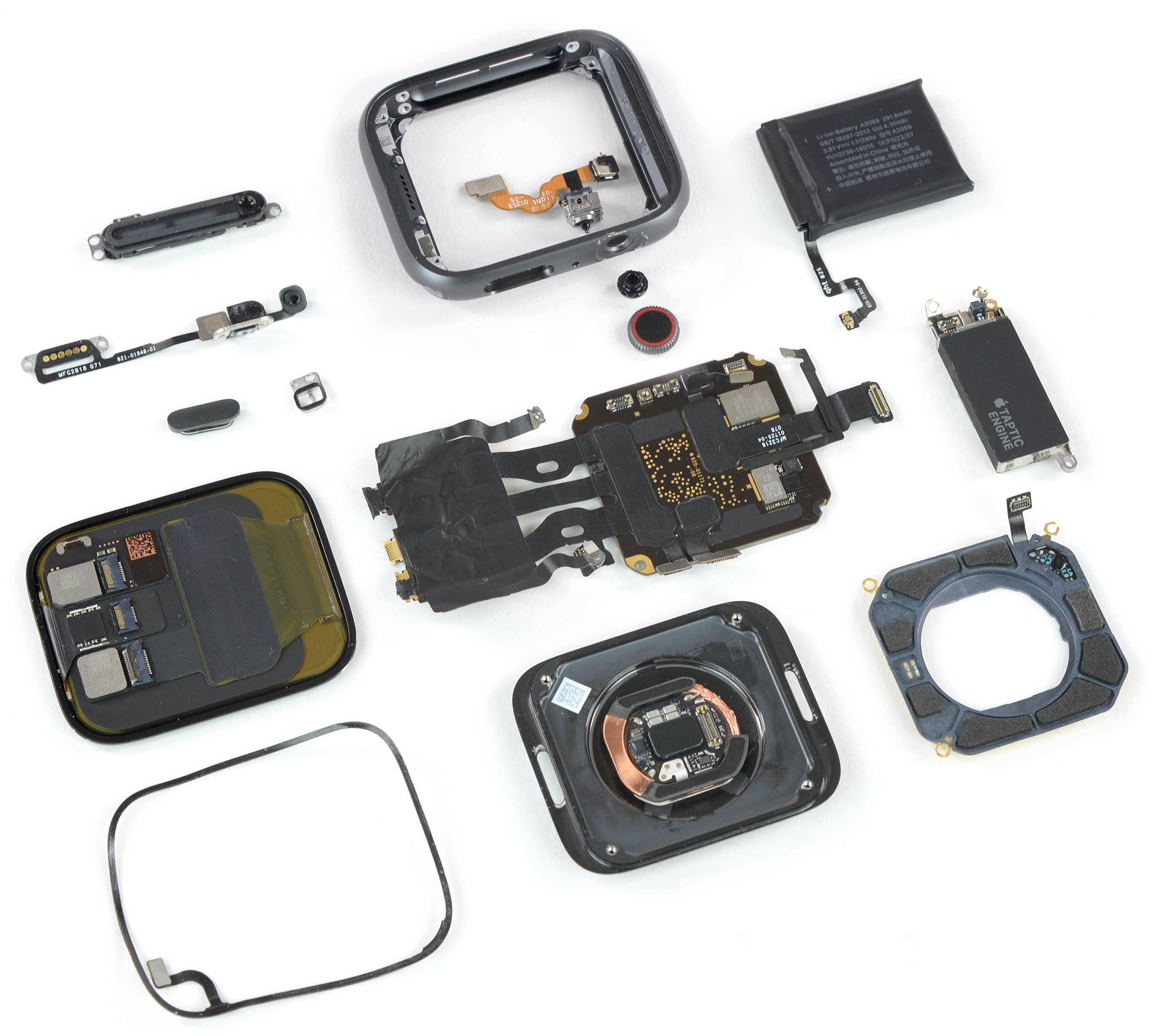 Apple Watch Series 4teardown reveals major improvements in terms of the internals