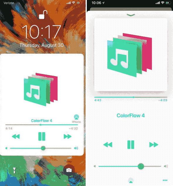 ColorFlow 4 brings album artwork-centric color schemes to