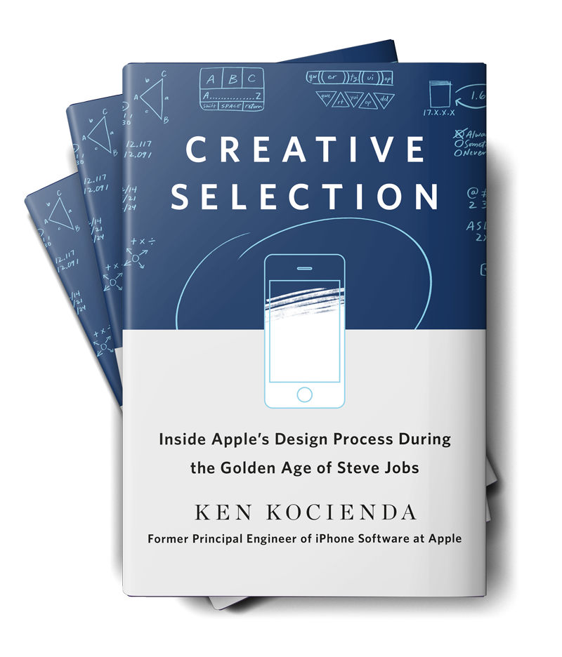 """A new. book on Apple and its design process, titled """"Creative Selection,"""" is now available"""