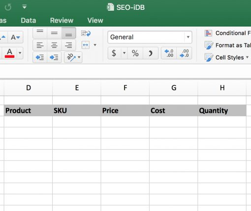 Excel Transpose Group of Cells