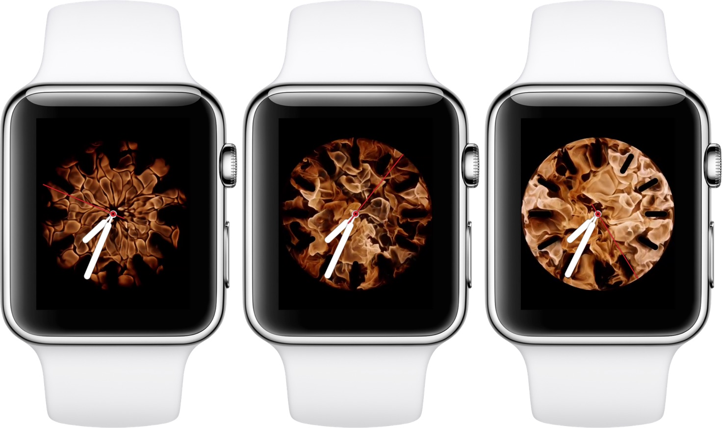 dd5619d1988 All of these watch faces are fully functional and move as you turn your  wrists. On the Apple Watch Series 4