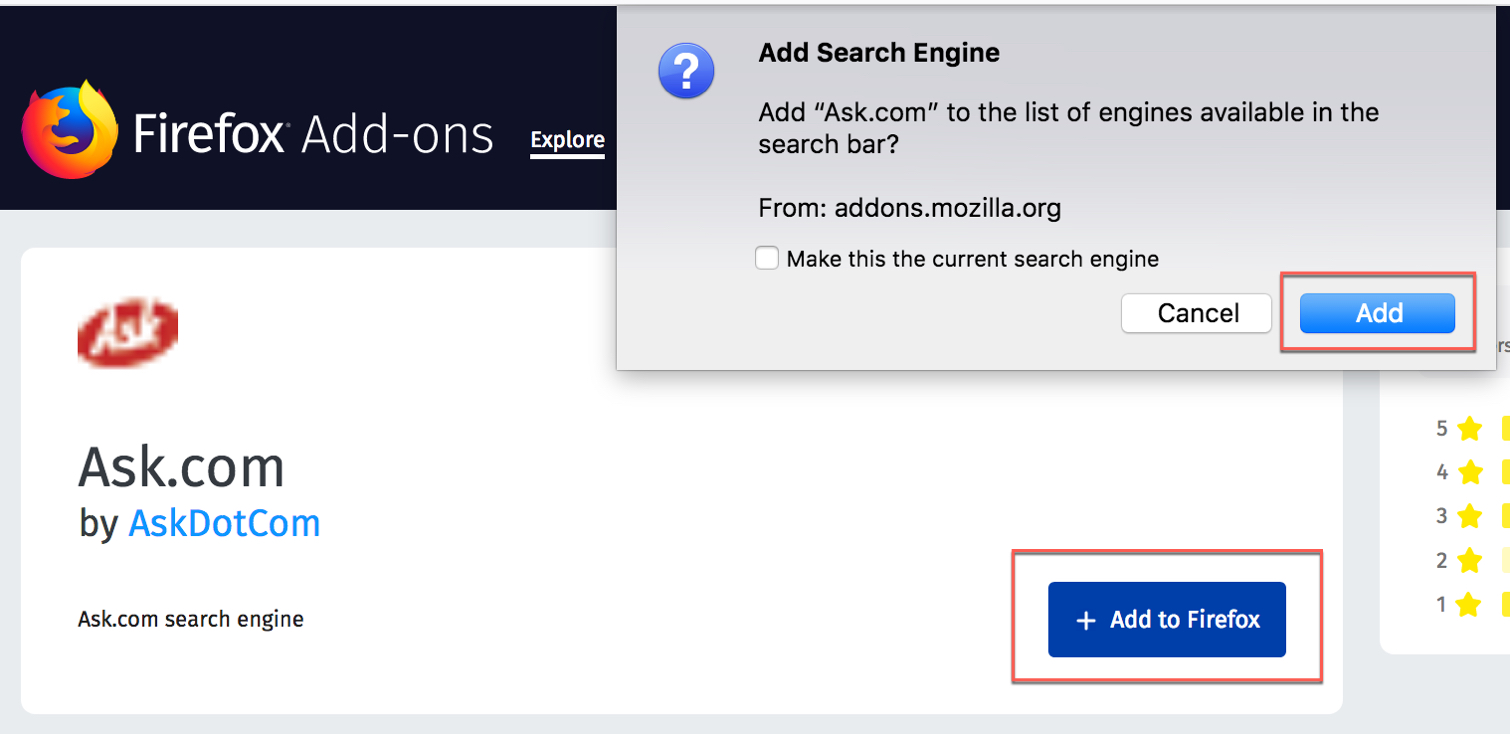 Firefox Install Search Engine