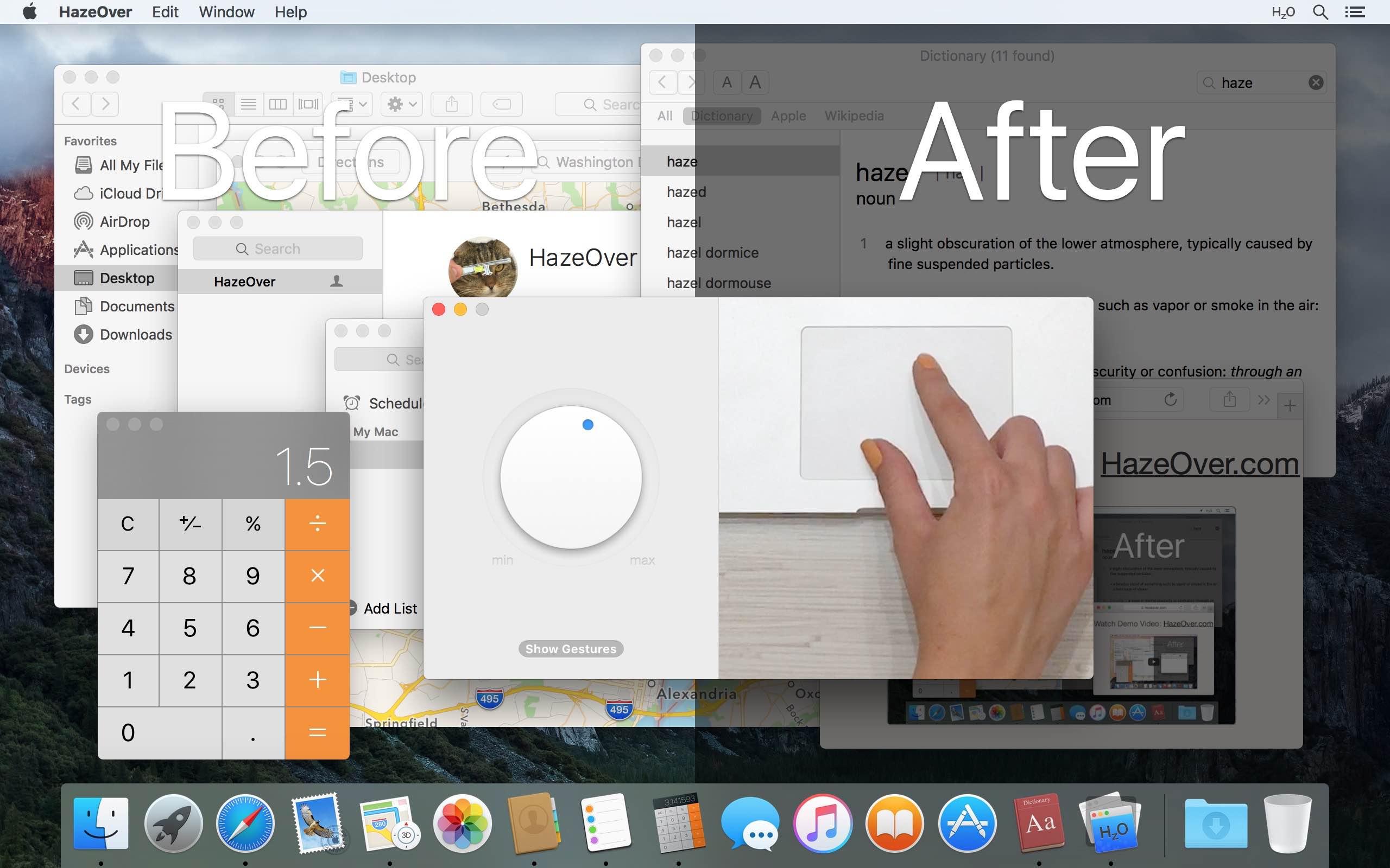 Mac Dark Mode se mejora con la aplicación HazeOver