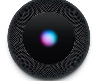 HomePod black top Siri light