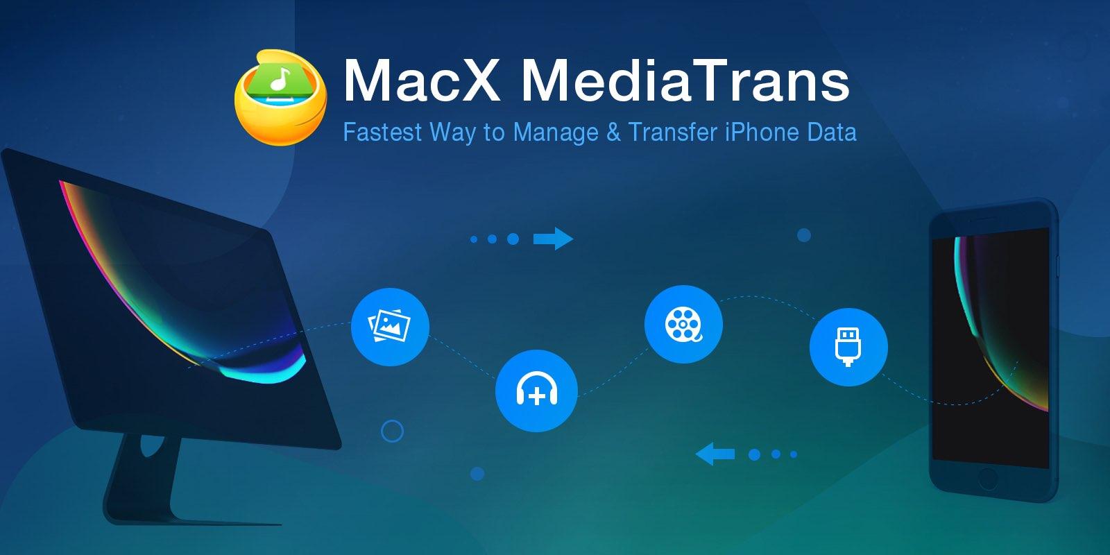 Alternativa de iTunes: MacX MediaTrans para Mac y Windows incluye sincronización selectiva y muchas funciones que no son compatibles con el torpe software de jukebox iTunes de Apple