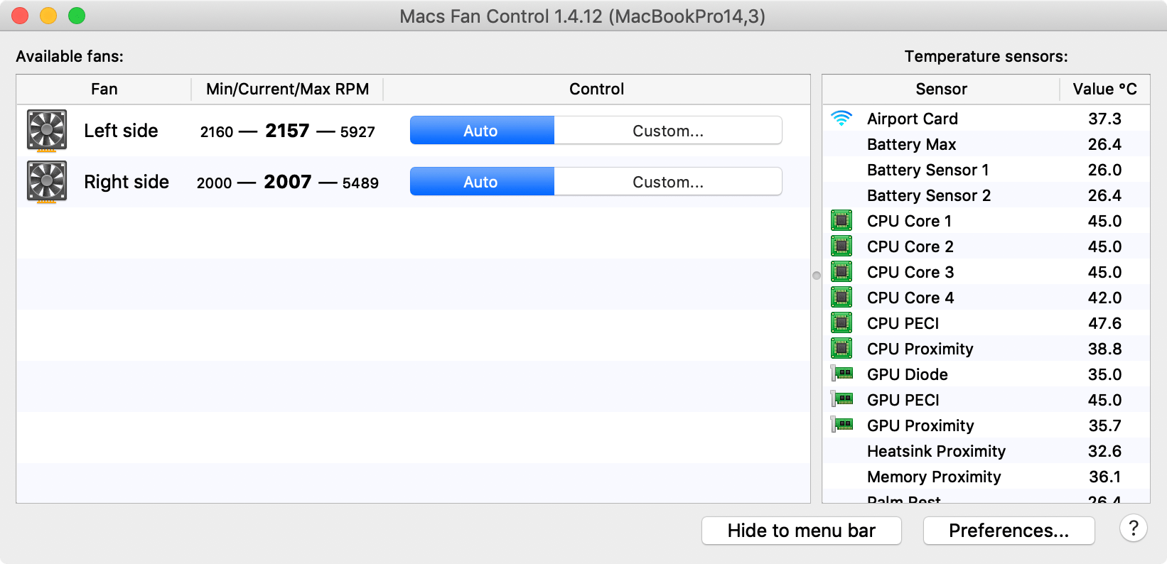 How to manually set your Mac's cooling fan speeds