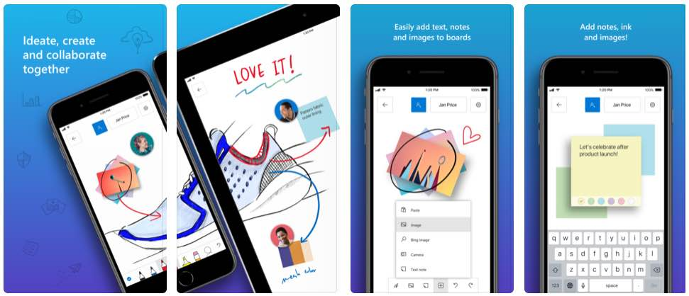 microsoft whiteboard is coming to iphone