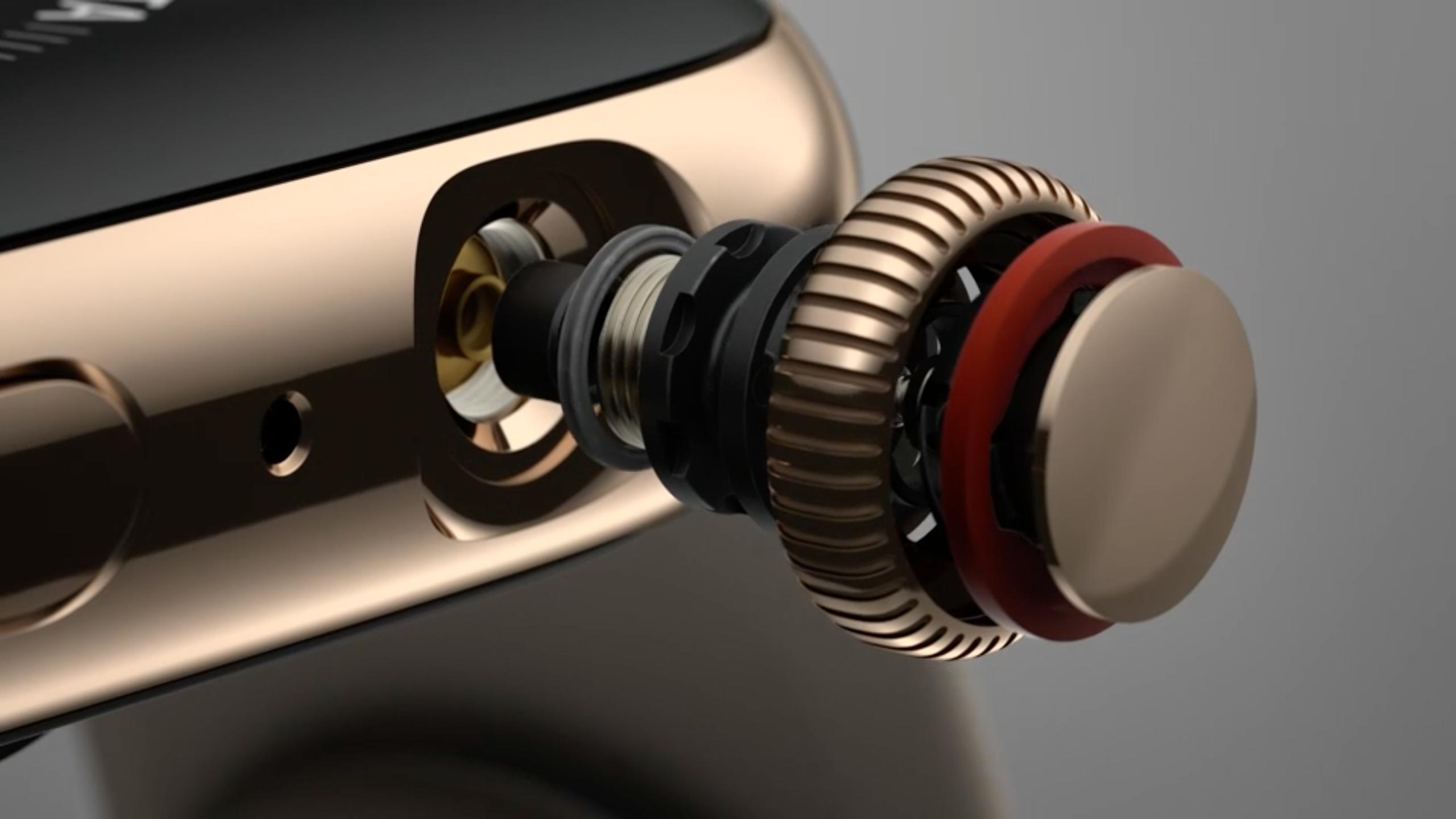 Apple Watch Series 4 teardown shows a much-improved Digital Crown