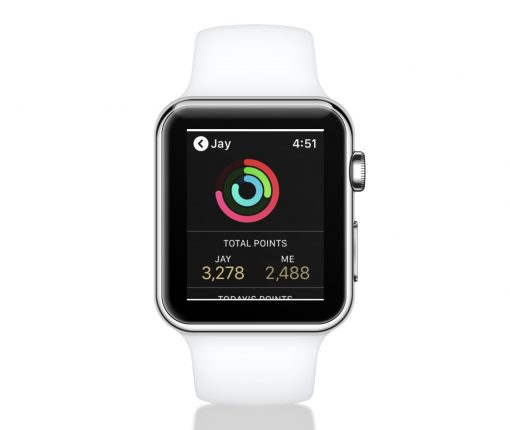 Apple Watch activity competitions