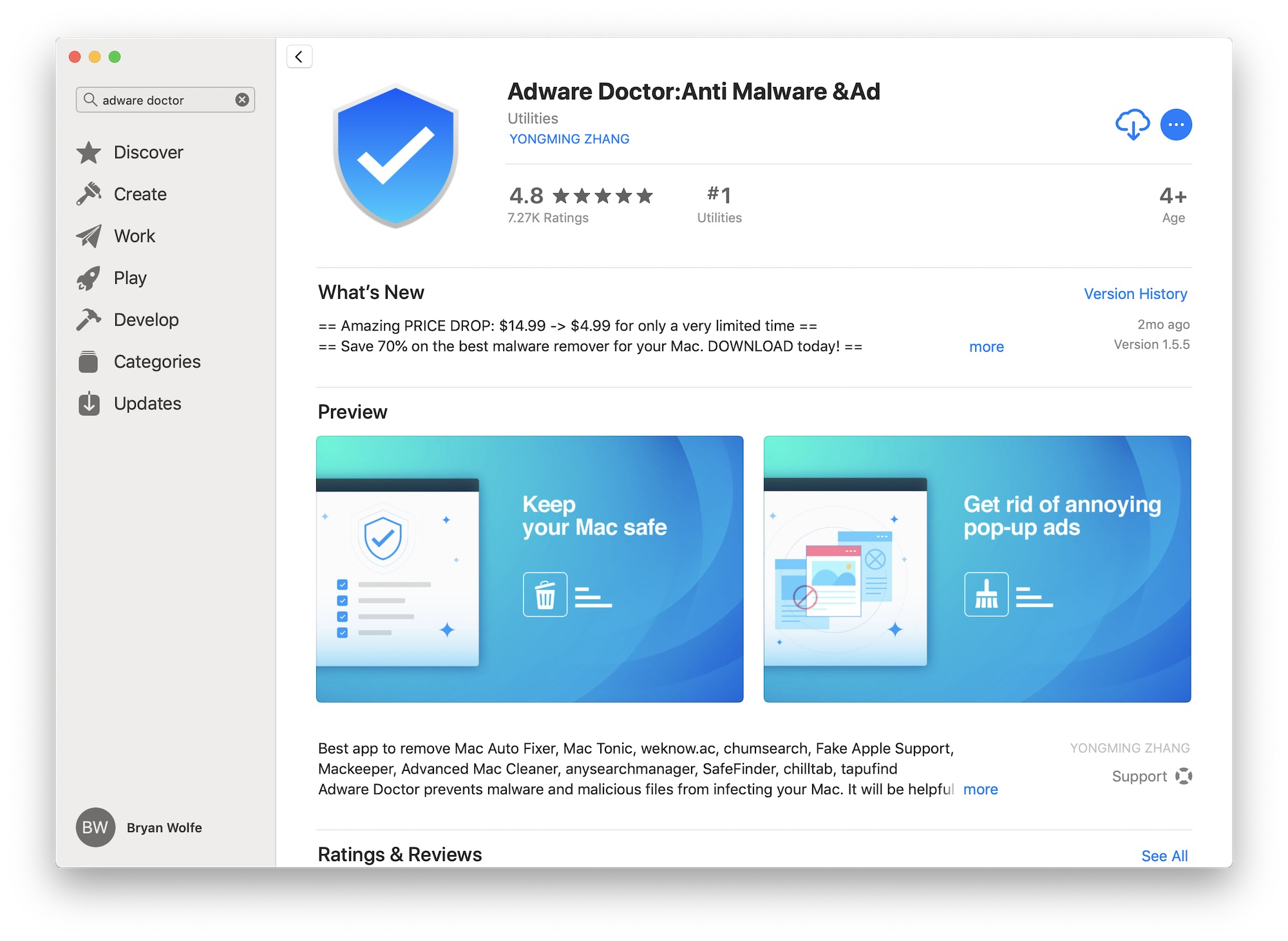 Top selling Mac App Store app found to send user browser data to