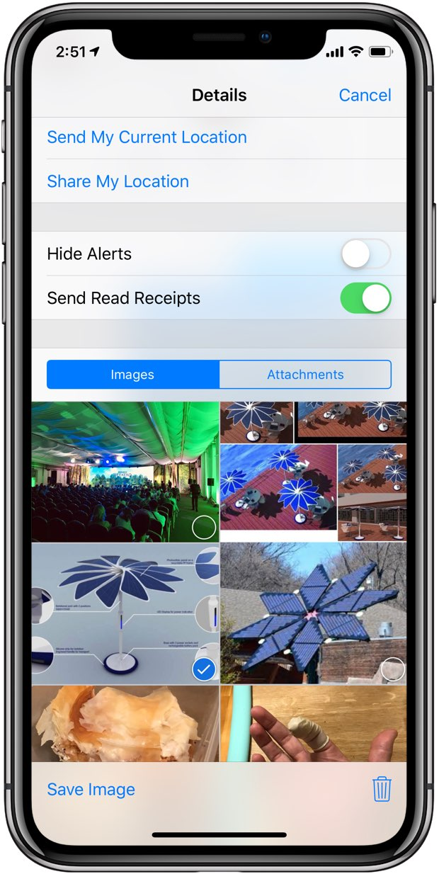 iMessage Photos - Messages makes it easy to save save all your iMessage pictures to the Photos app