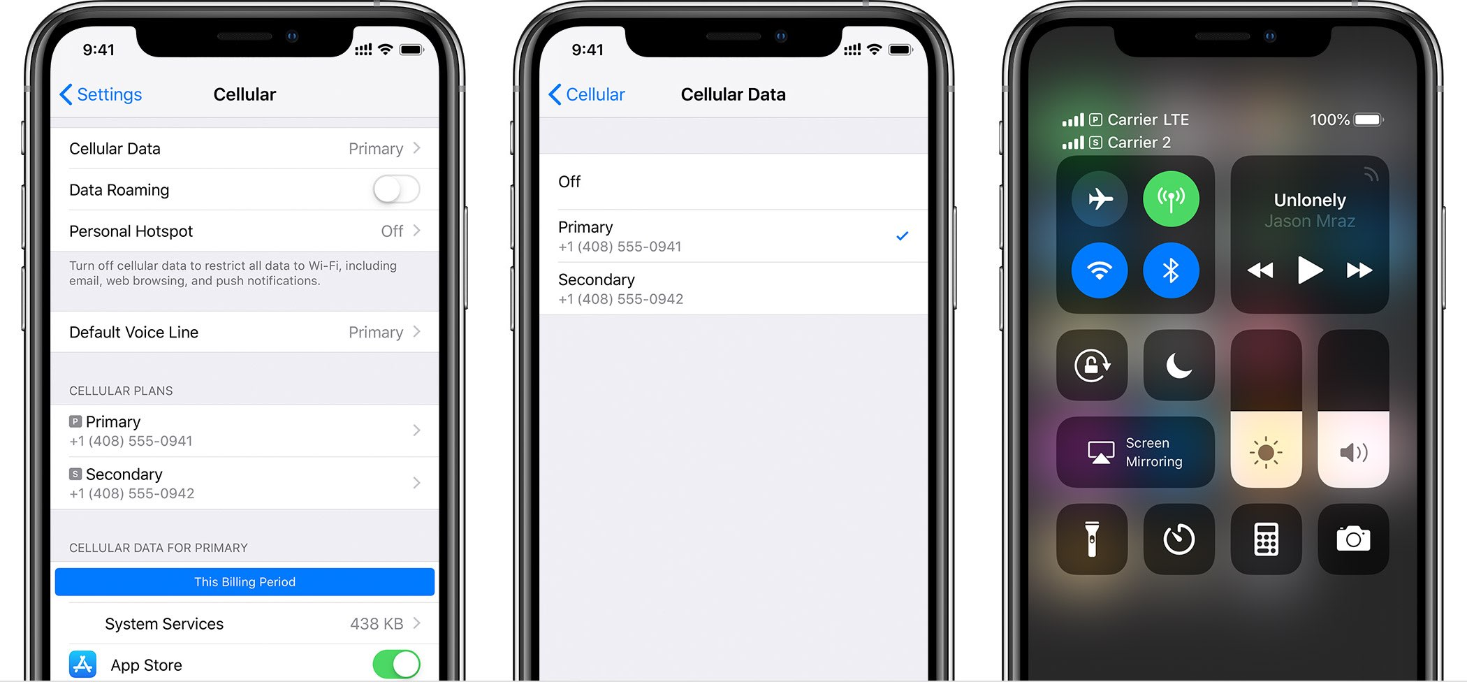 iPhone dual SIM support requires iOS 12.1