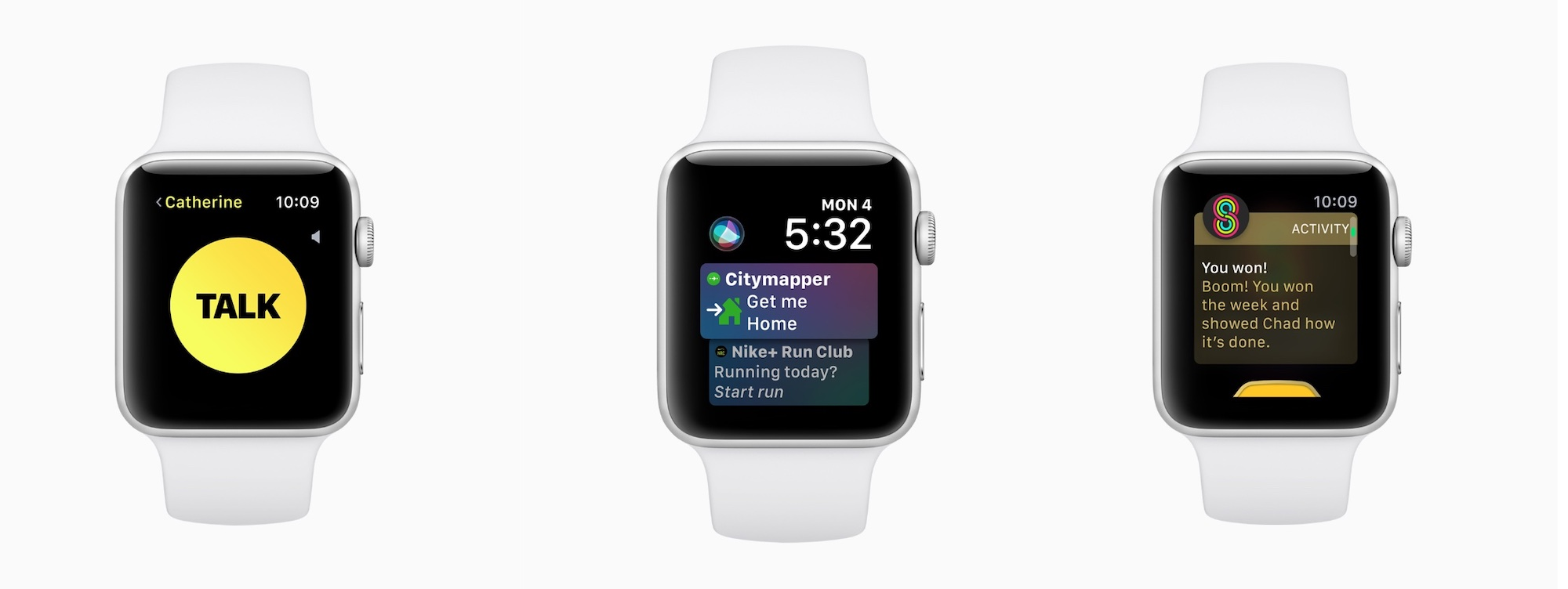 watchOS 5 features