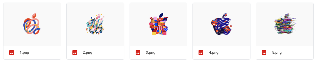 """Wallpapers of """"there's more in the making"""" Apple event"""