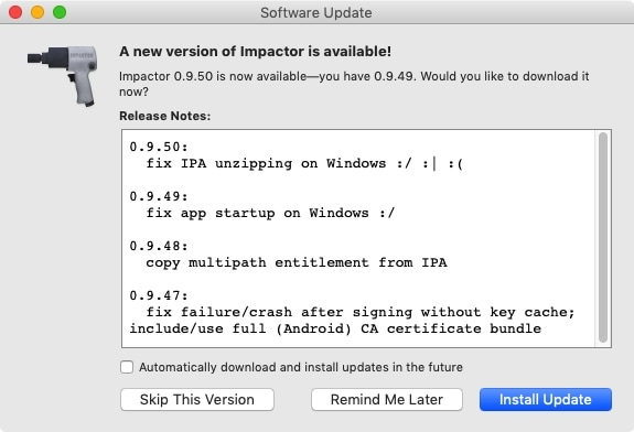 Saurik updates Cydia Impactor to address  ipa unzipping issue on Windows