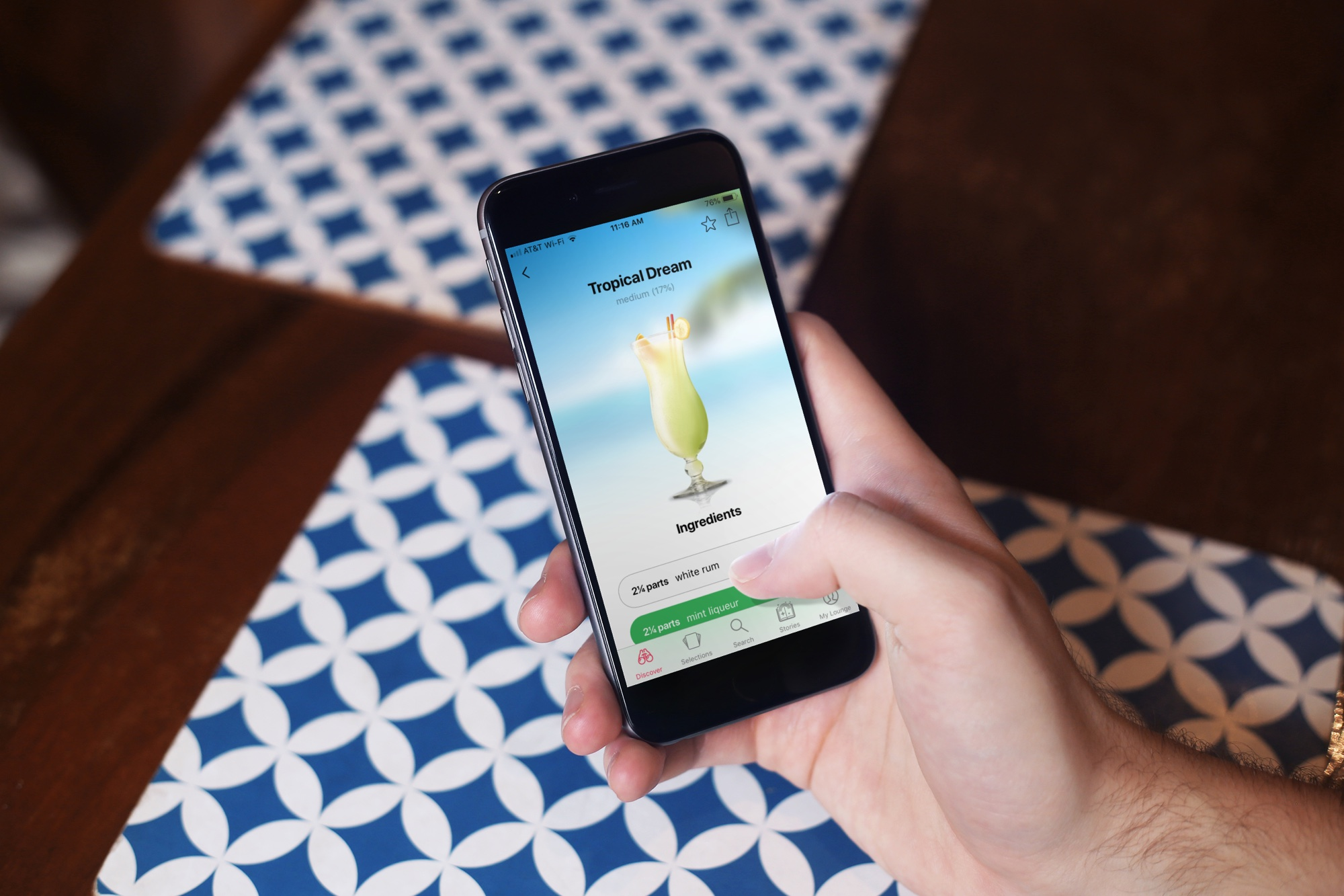 Cocktail and drink recipe apps for iphone