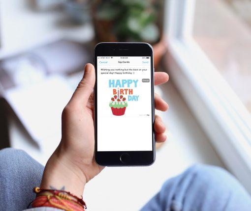 Happy Birthday Card hip iPhone