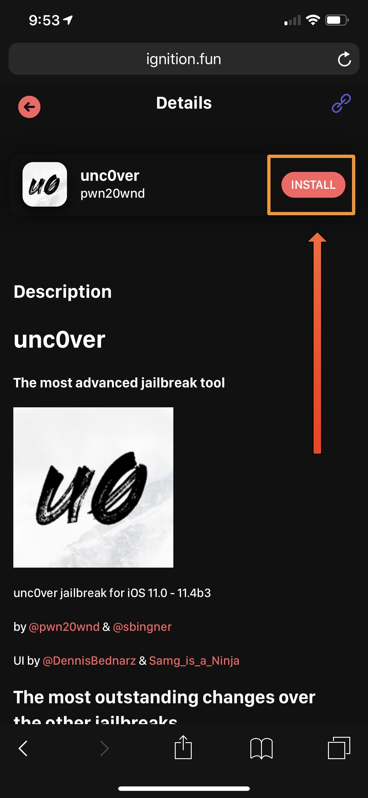 How to install the unc0ver jailbreak without a computer