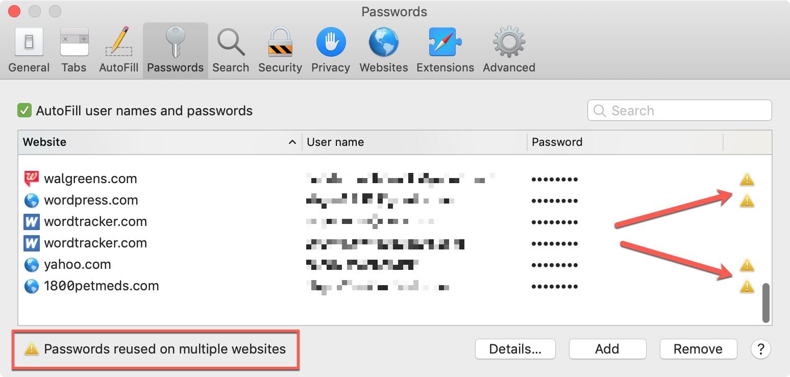 Password Auditing on Mac
