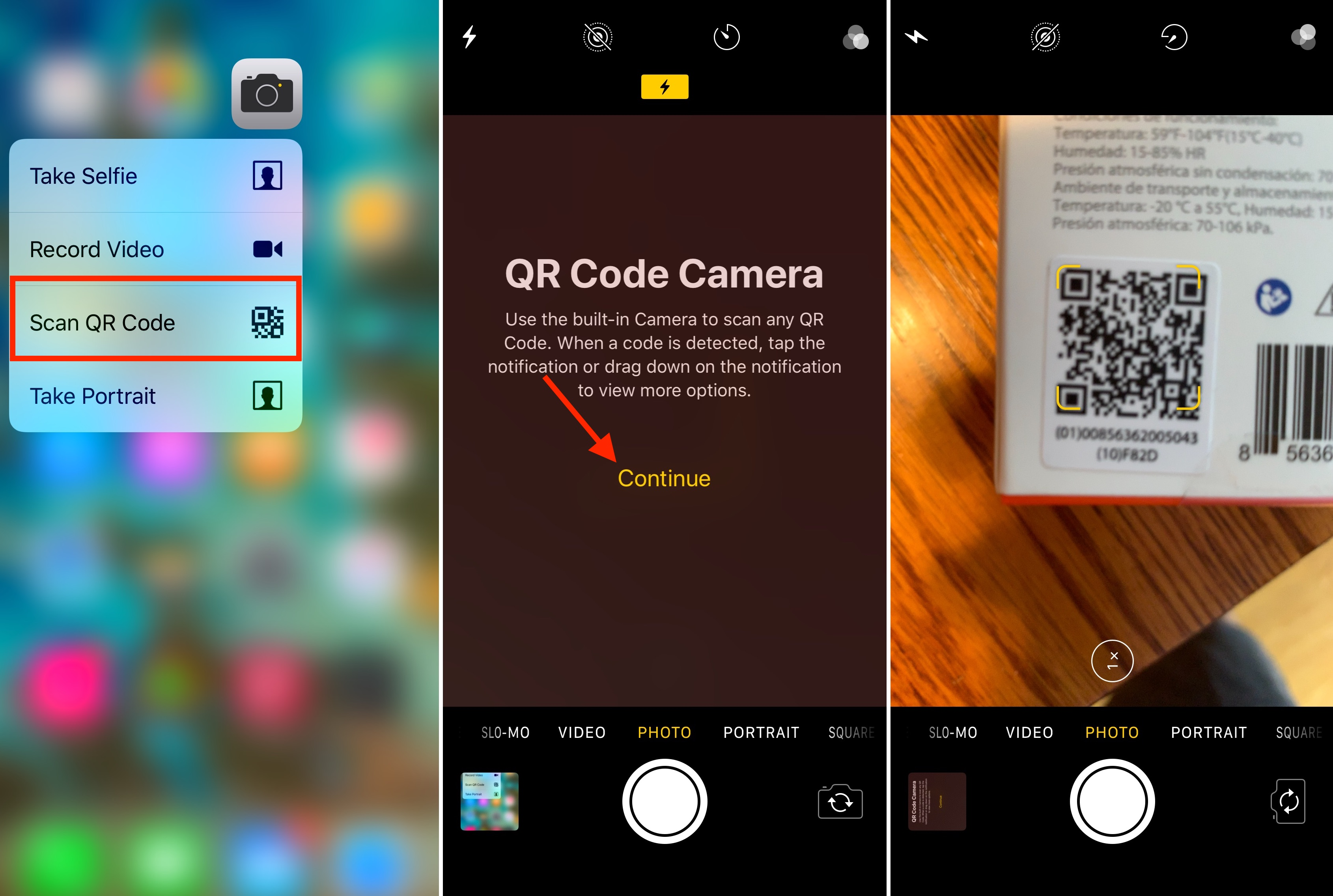 How To Scan QR Codes And Documents From The Home Screen