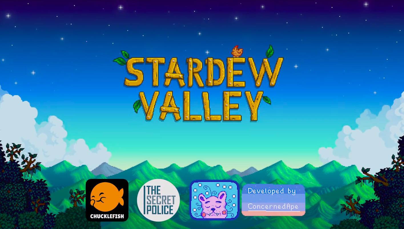 Stardew Valley iPhone and iPad hero image