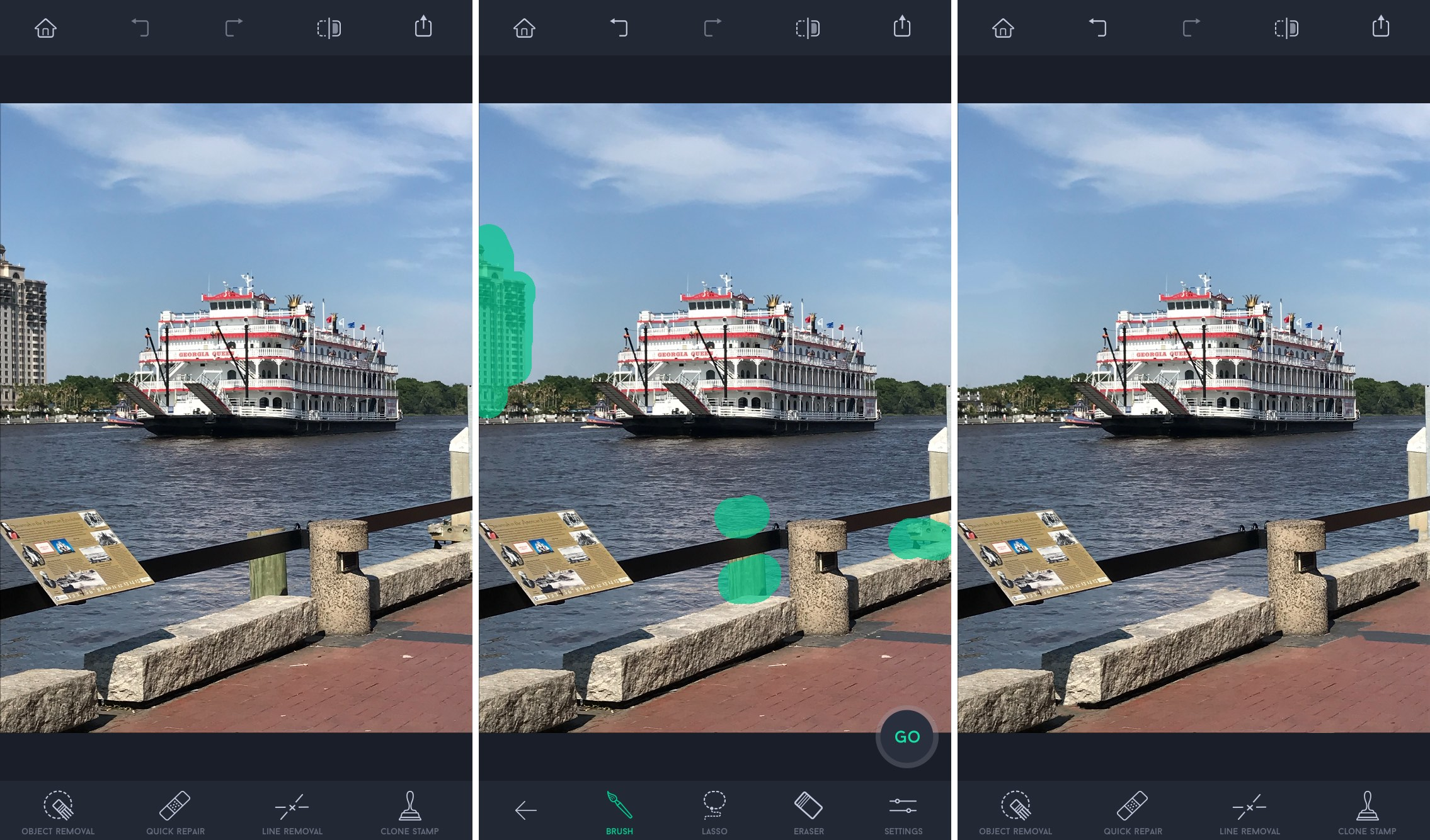 TouchRetouch Remove Objects Outside