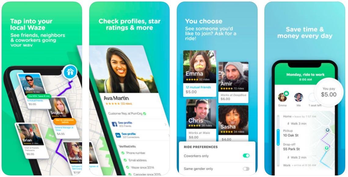 El uso compartido de vehículos de Waze ahora está disponible para todos los usuarios en los Estados Unidos