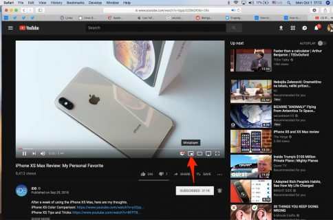 How to access iOS 9's Picture in Picture mode for YouTube videos