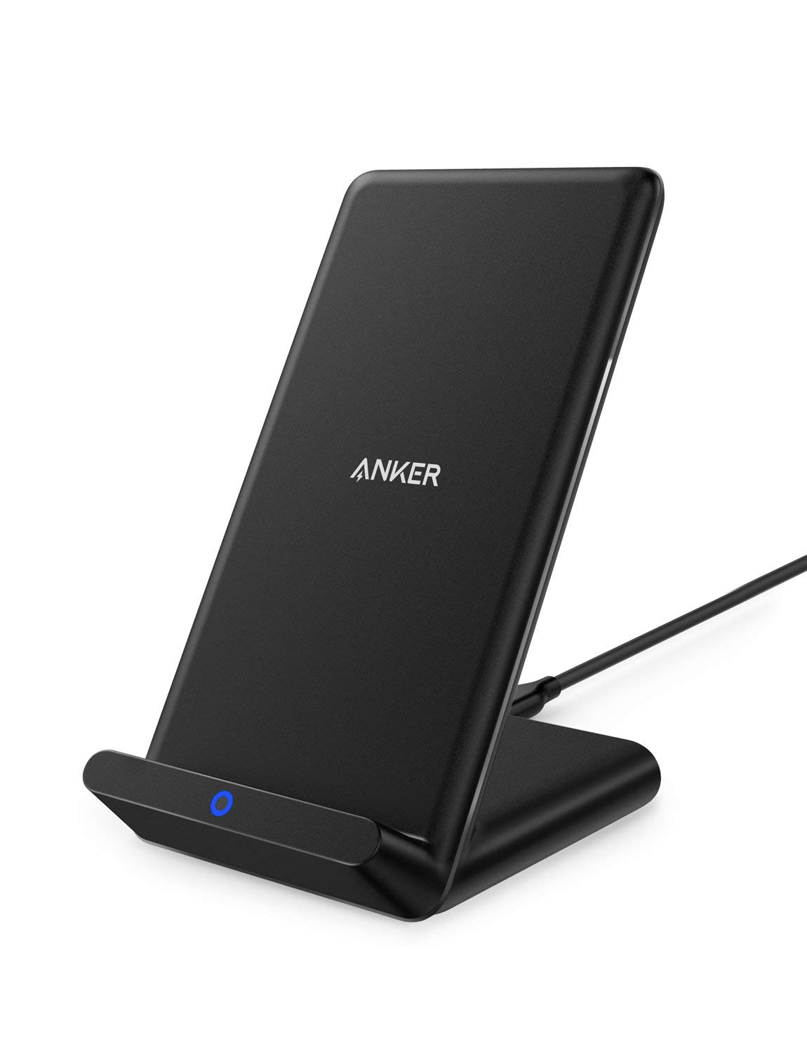 anker black wireless charging stand