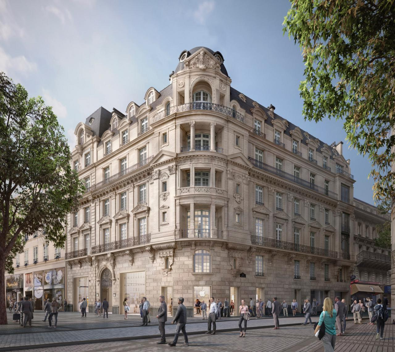 Apple will open a brand new flagship store in November on the Champs-Élysées in Paris, France