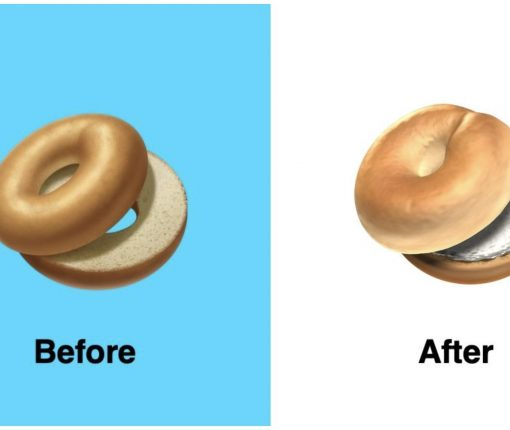 bagel emoji iOS 12.1 beta 4