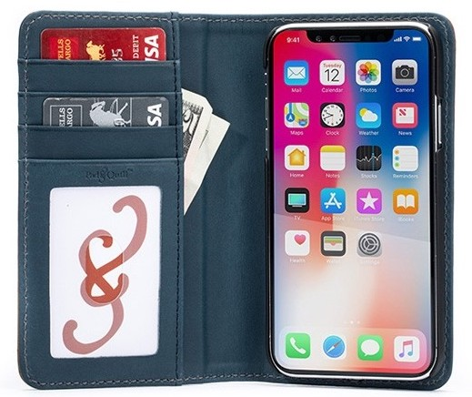pad & quill leather best wallet cases for iPhone XR