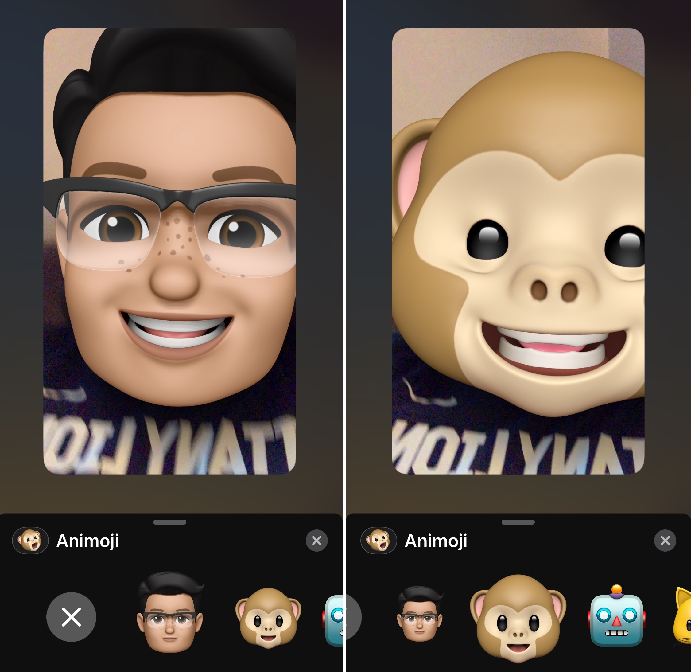 How to use FaceTime camera effects like Animoji and stickers