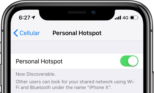 How to adjust AirDrop visibility from Control Center on