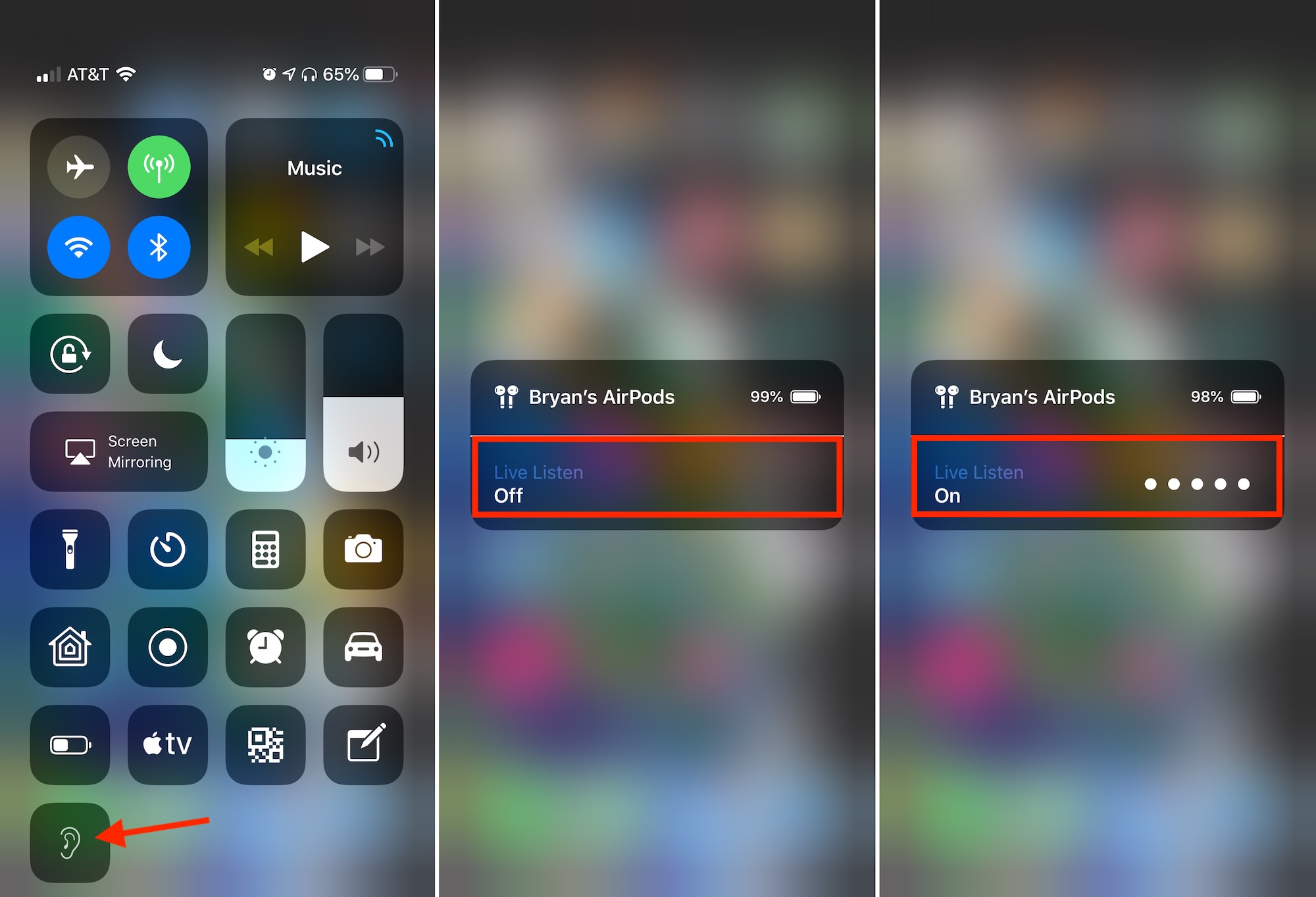 How to turn your iPhone into a remote microphone with AirPods & Live