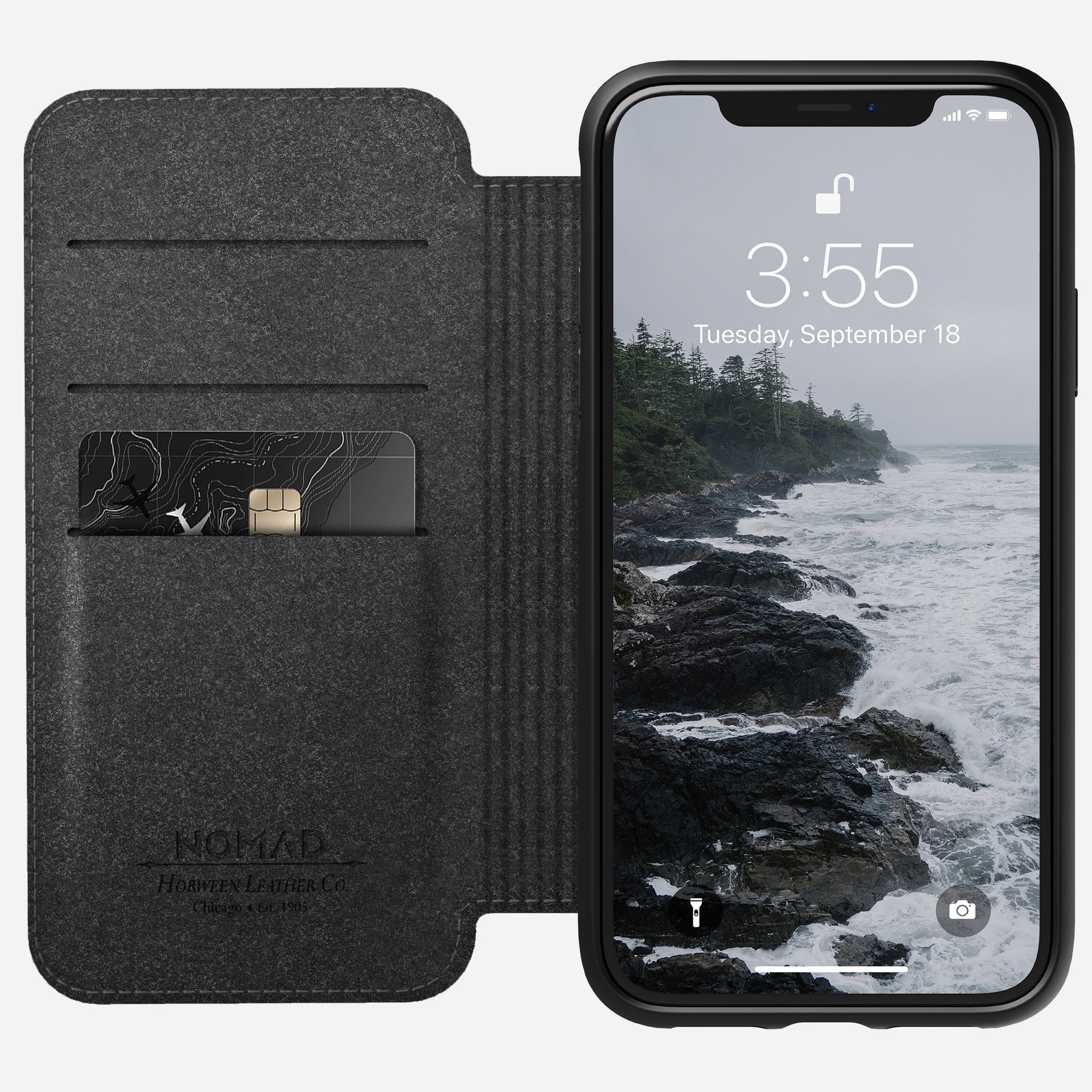 Nomad Rugged Folio case for iPhone XR