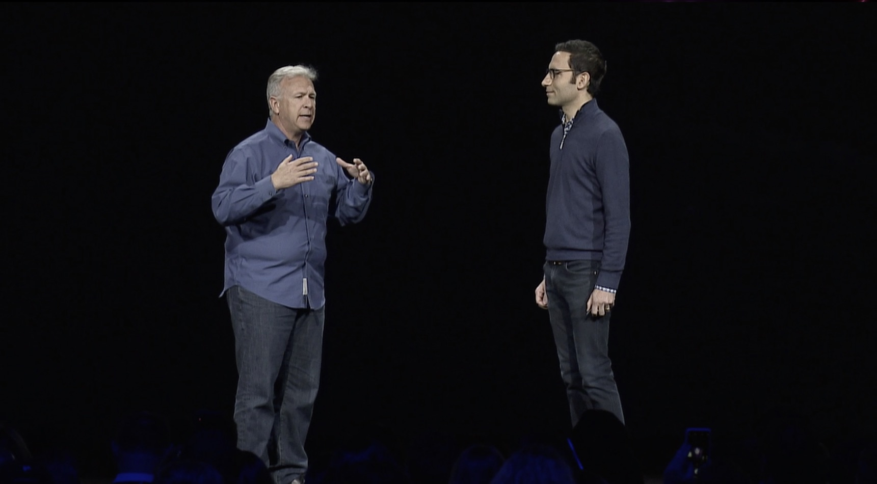 Phil Schiller at Adobe Max