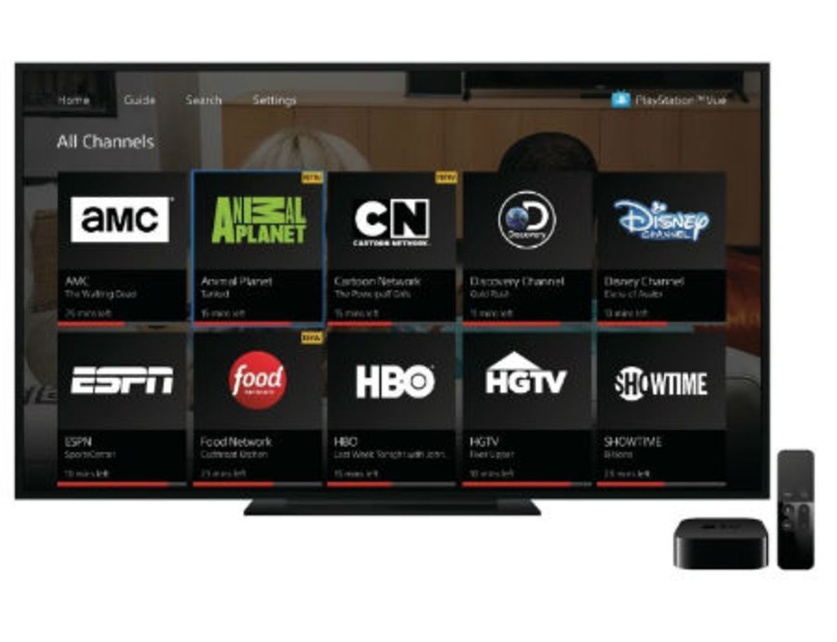PlayStation Vue now supports Apple's TV app for iOS and tvOS
