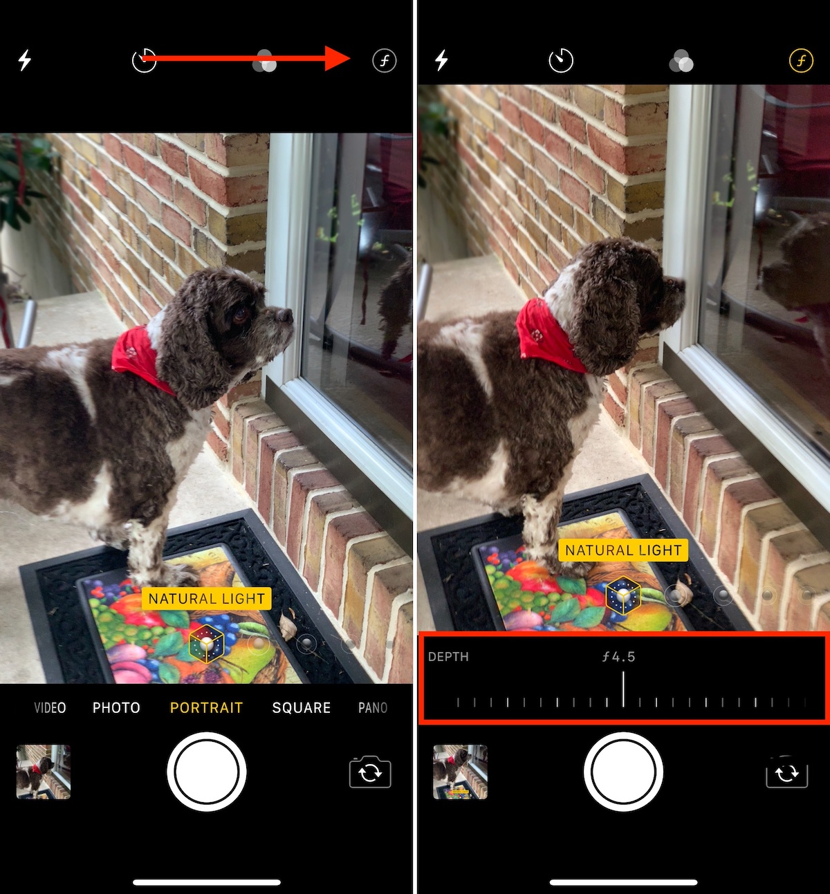 A quick look at real-time Depth Control in iOS 12 1