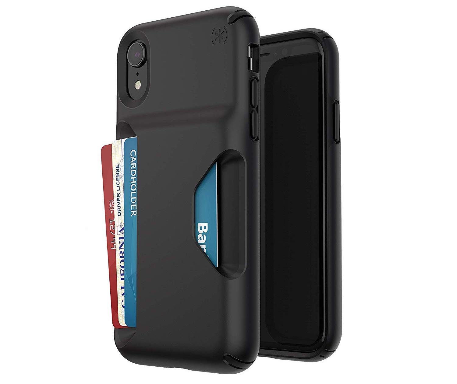 speck presidio black best wallet cases for iPhone XR