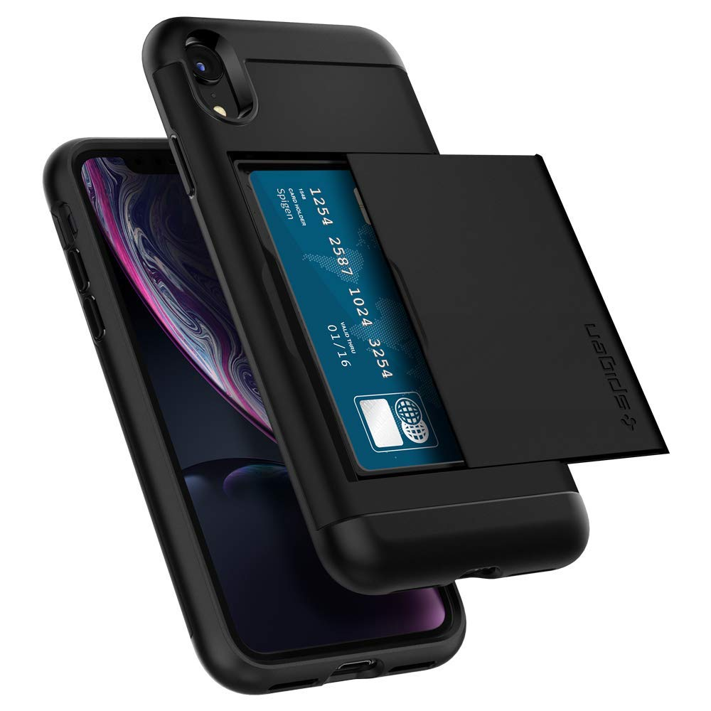 iphone xr case card holder