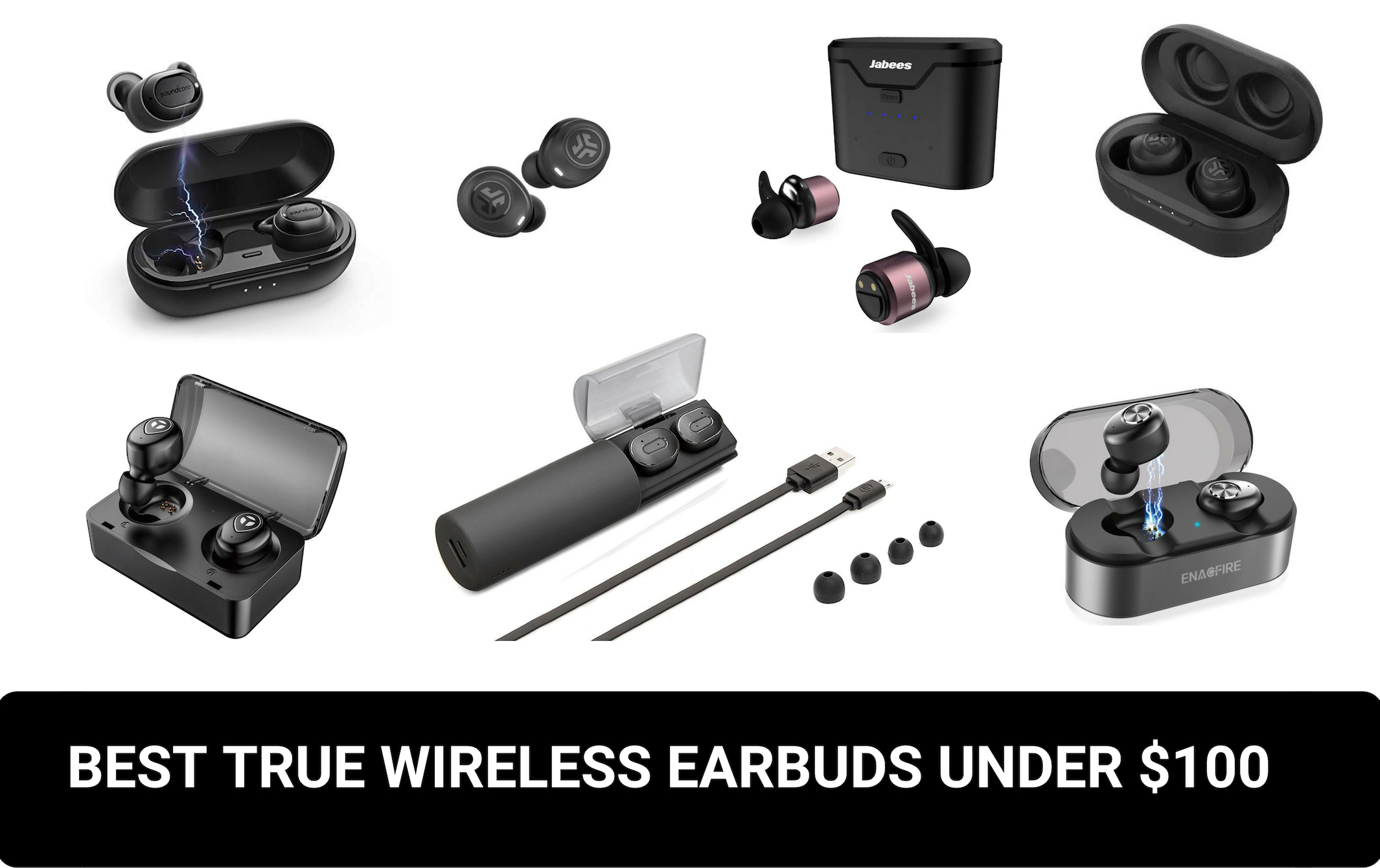 bb537e4ccba Best true wireless earbuds under $100