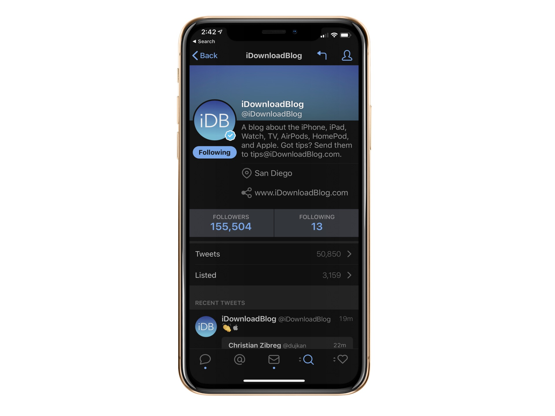 Tweetbot 5 update offers refreshed design, optimized dark