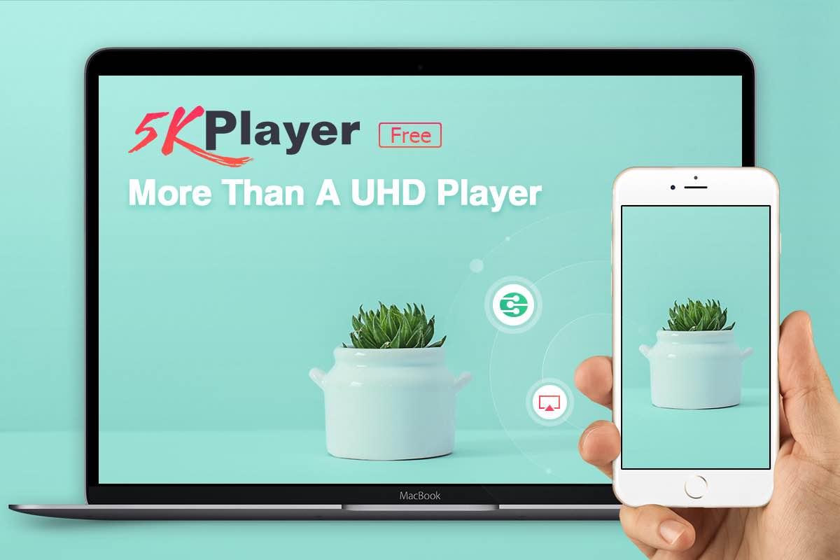 5KPlayer brings multiscreen playback, DLNA, Internet radio