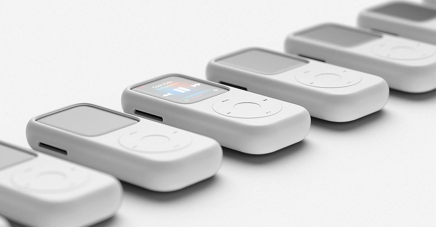 reputable site 9c588 6ad6e Concept: Apple Watch Series 4 case reminiscent of the original iPod