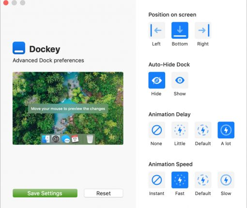 Dockey App Interface Mac Featured